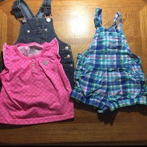 18 month girl bundle- carters, Levi's and Oshkosh